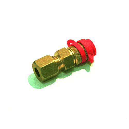 Gas snelkoppeling 8mm x insteek