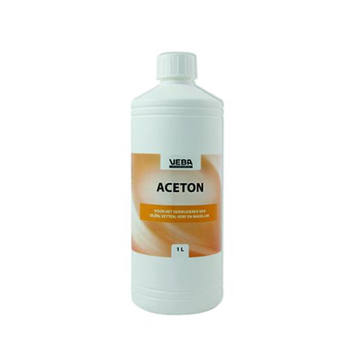 Aceton fles 1 liter