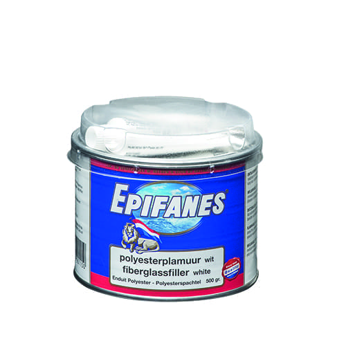 Epifanes polyesterplamuur wit 500gr