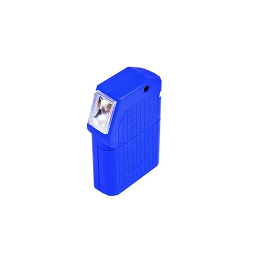 Zaklantaarn plat + losse batterij