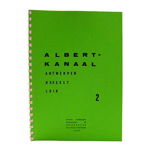 """Pierre Verberght vaarkaarten """" Albertkanaal """""""
