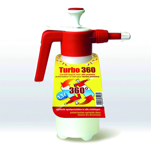 Handdrukspuit Turbo 360gr 1,3ltr