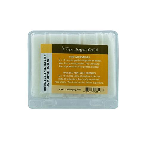 Verfrol perlon goudstreep verpakt per 10 stuks