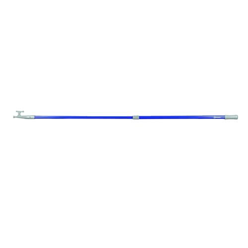 Talamex haakstok telescopisch 120-210cm blauw