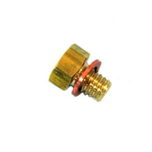 Messing aftap plug HDF296