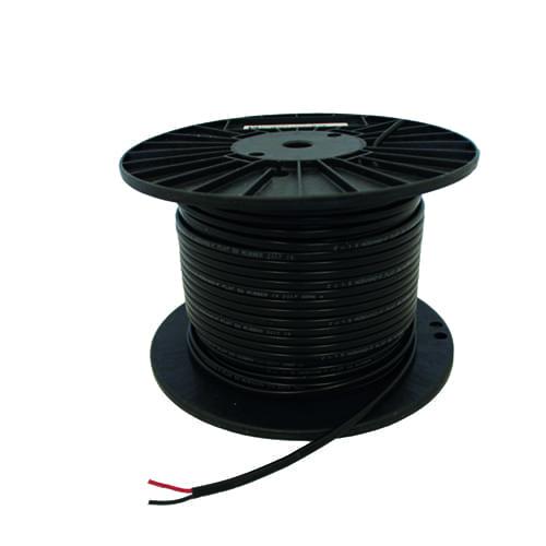 Platte PVC kabel 2 x 2,5mm2 (per meter)