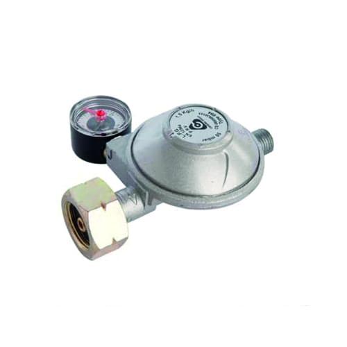 Gas drukregelaar met afblaas + manometer 30mbar