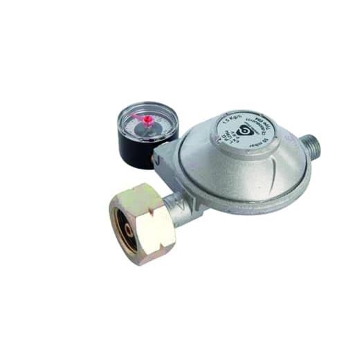 Gas drukregelaar met afblaas + manometer 50mbar