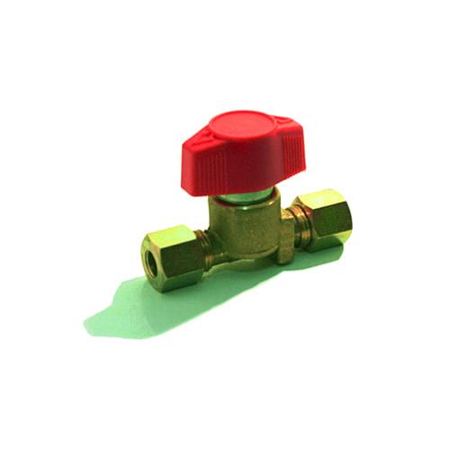 Gas enkele kraan 8 x 8mm