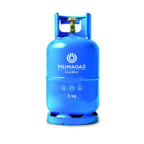 Gas vulling 5 kg. (Primagaz easy blue)