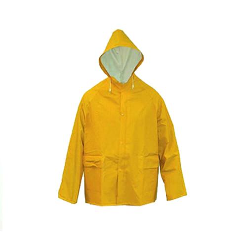 Regenjas pvc geel xxl