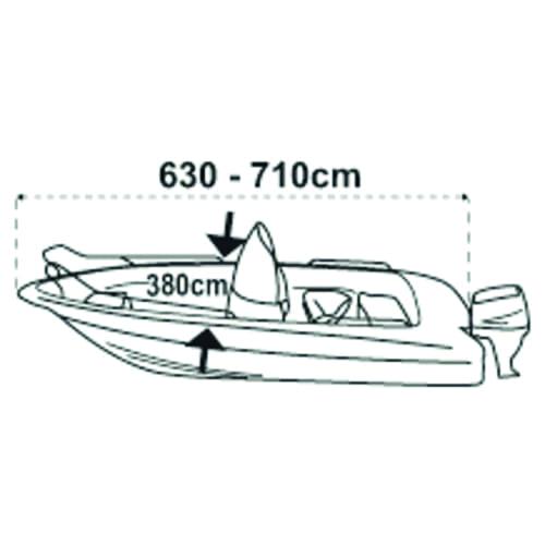 Boat cover XXL