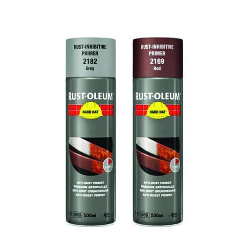 Rust-oleum Roestwerende primer verfspuitbus 500ml HARD HAT