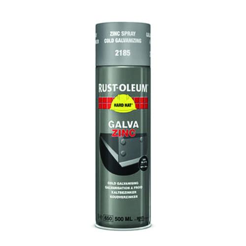 Rust-oleum Galva zinc verfspuitbus 500ml HARD HAT
