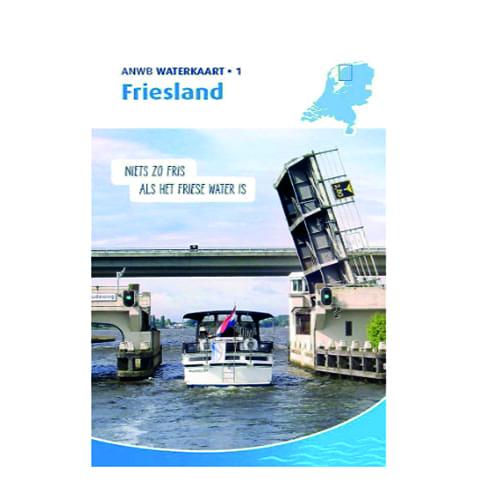 ANWB Waterkaart 1 – Friesland