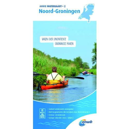 ANWB Waterkaart 2 – Noord Groningen