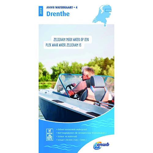 ANWB Waterkaart 4 – Drenthe