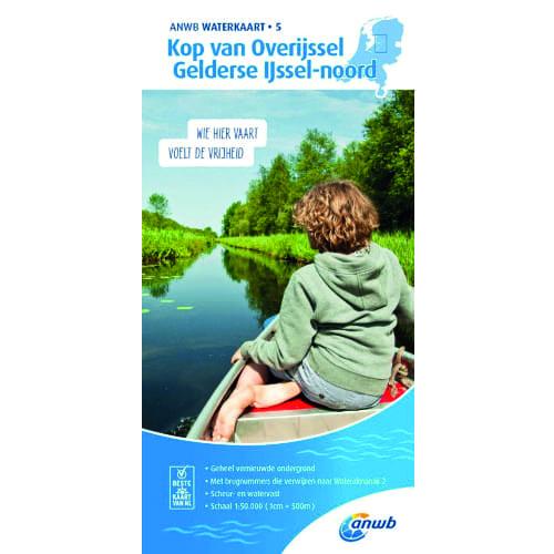 ANWB Waterkaart 5 – Kop van Overijssel