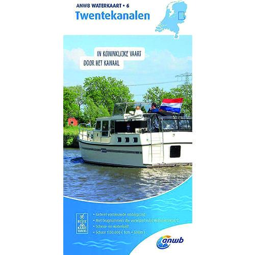 ANWB Waterkaart 6 – Twentekanalen