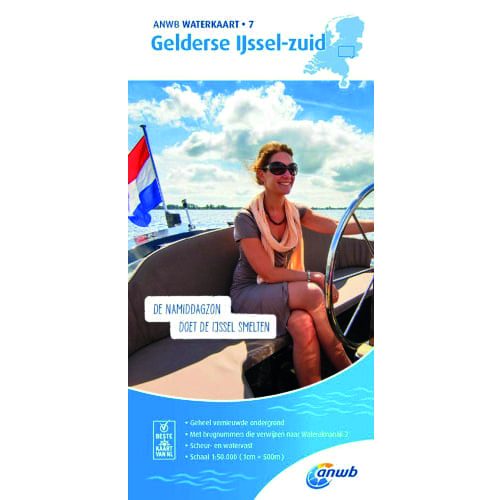 ANWB Waterkaart 7 – Gelderse IJssel-Zuid