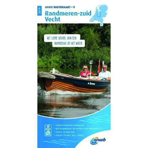 ANWB Waterkaart 9 – Randmeren-Zuid / Vecht