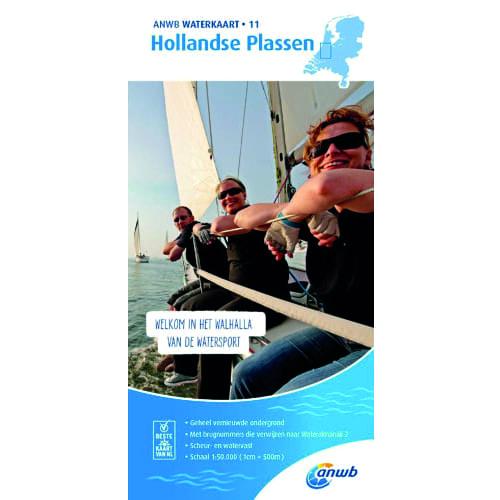 ANWB Waterkaart 11 – Hollandse Plassen