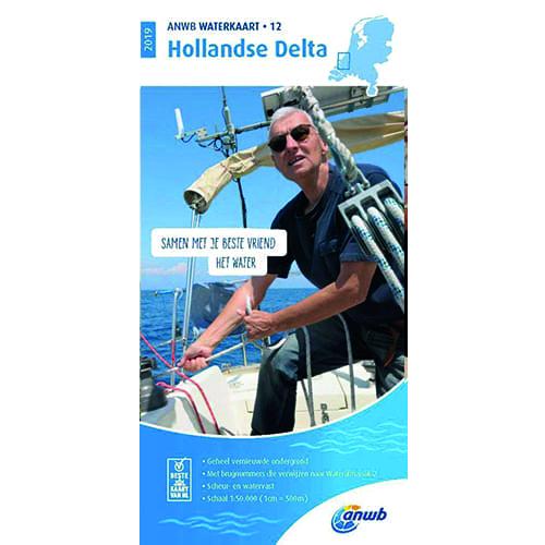 ANWB Waterkaart 12 – Hollandse Delta