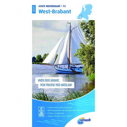 ANWB Waterkaart 13 – West-Brabant
