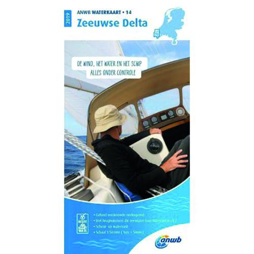ANWB Waterkaart 14 – Zeeuwse Delta