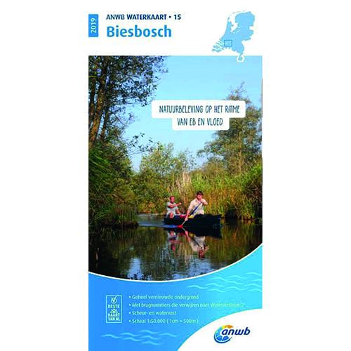 ANWB Waterkaart 15 – Biesbosch