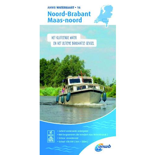ANWB Waterkaart 16 – Noord-Brabant / Maas-Noord