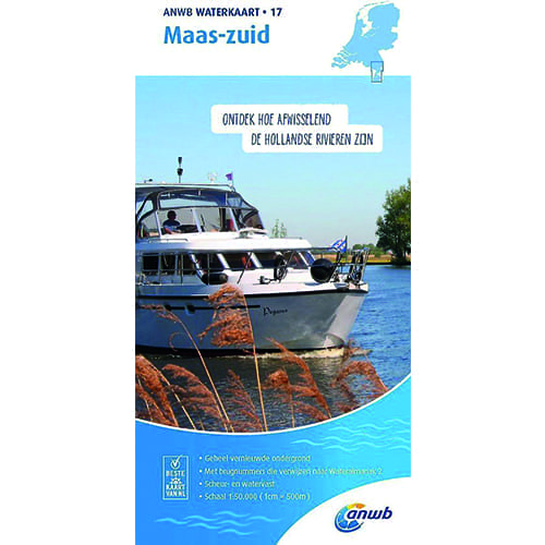 ANWB Waterkaart 17 – Maas-Zuid