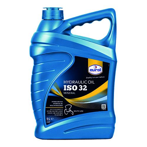 Eurol hydraulic VHLP ISO oil 32 5liter