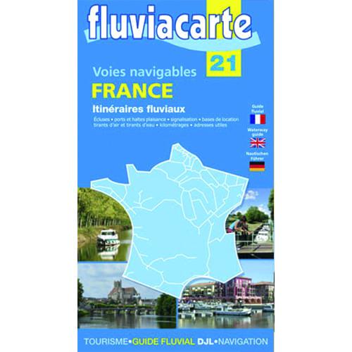 Kaart fluvia carte 21 france