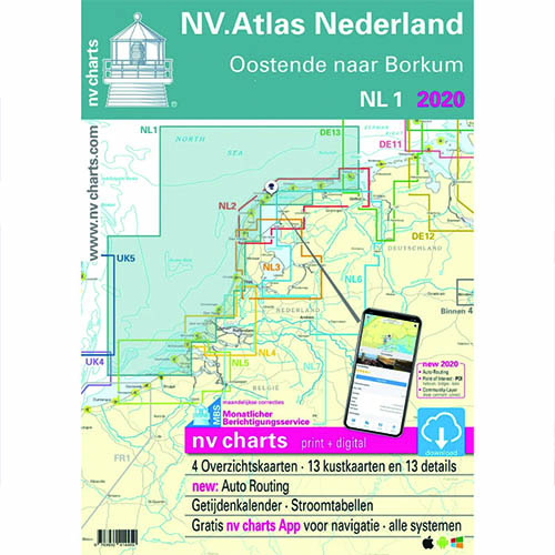NV Atlas Nederland 1. Oostenende naar Borkum