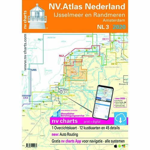 NV Atlas Nederland 3. IJsselmeer en Randmeren