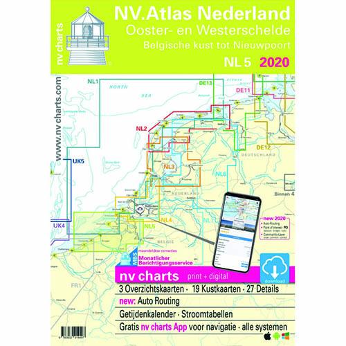 NV Atlas Nederland 5. Ooster en Westerschelde