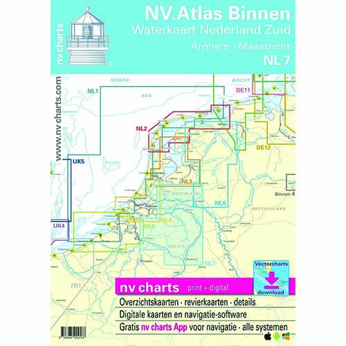 NV Atlas 6 Binnenwateren Nederland noord