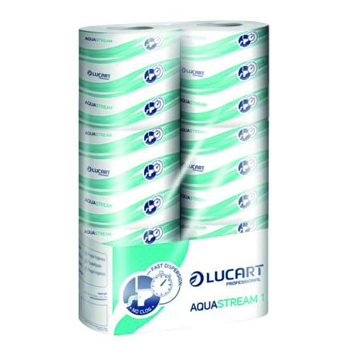 Toiletpapier Aquastream snel oplosbaar 6-pack