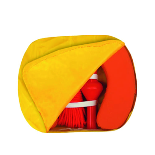 Reddingsboei safety kit incl. boei, lamp, touw en hoes