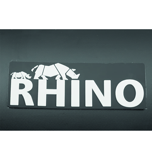 Nimarine rubberboot MX 290 ALU black rhino + afdekkleed