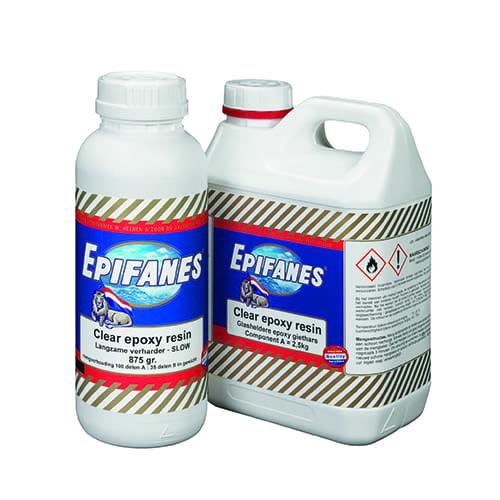 Epifanes Clear epoxy fast 3.125kg