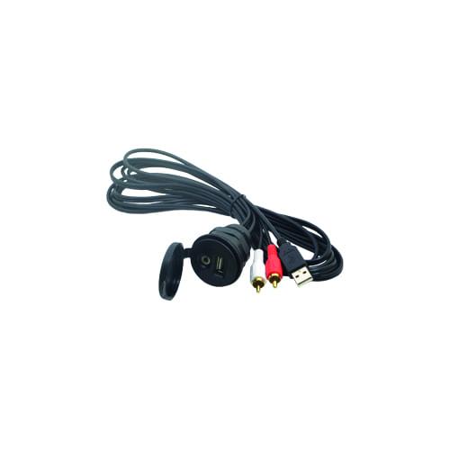 USB-AUC Connector waterdicht 3,5mm