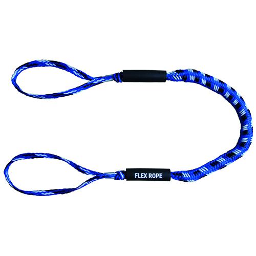 Flex Rope blauw mix 120-170cm