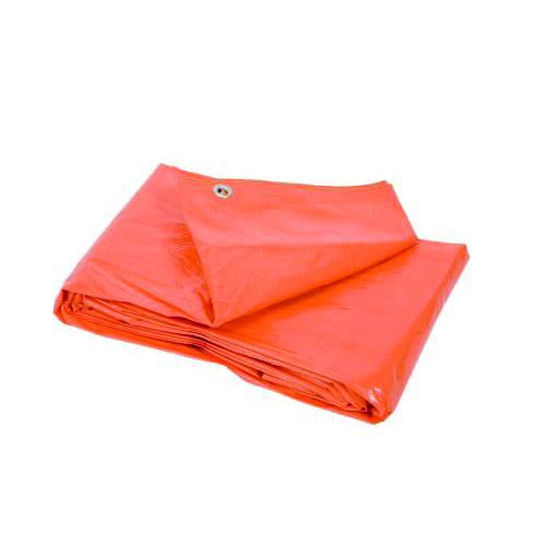 Dekkleed oranje 10 x 12 meter (100gr per m2)