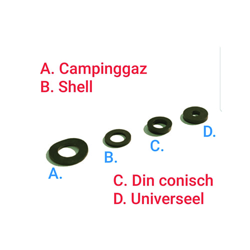 Gas rubber ring