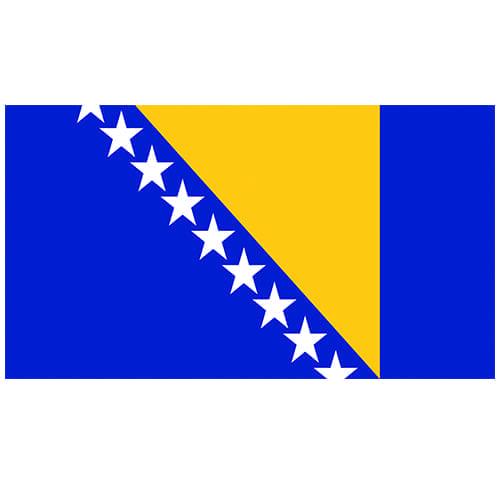Vlag Bosnië-Herzegovina 100 x 150cm