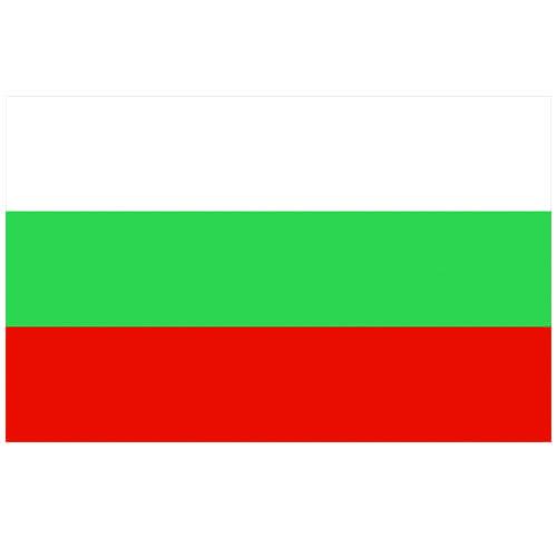Vlag Bulgarije 100 x 150cm