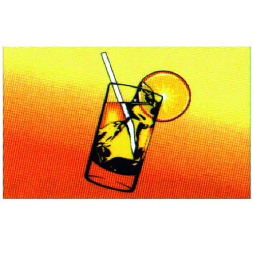 Vlag cocktail 30 x 45cm