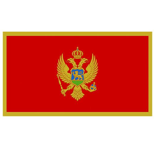 Vlag Montenegro 100 x 150cm